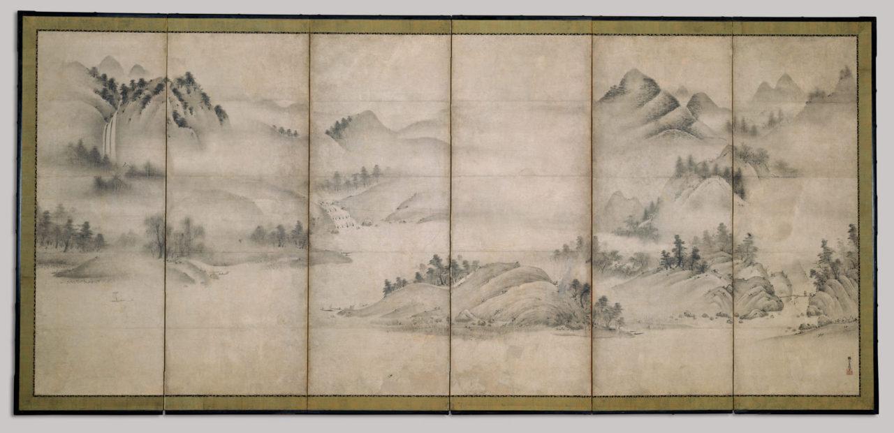 Landscape of the four seasons - Saomi